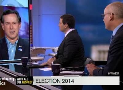 News video: Santorum: Midterm Races Shouldn't Be This Close