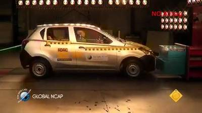 News video: Nissan's Datsun Go Score Zero Stars for Occupant Safety